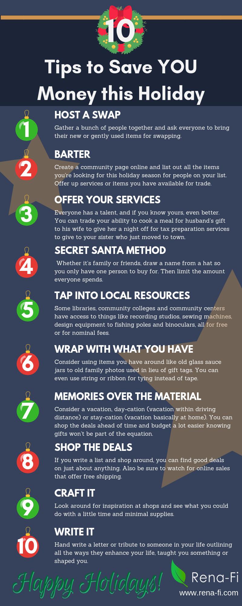 Money Saving Holiday Tips