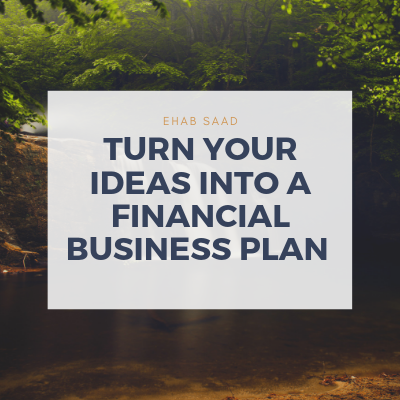 Turn Your Ideas Into A Financial Business Plan course image