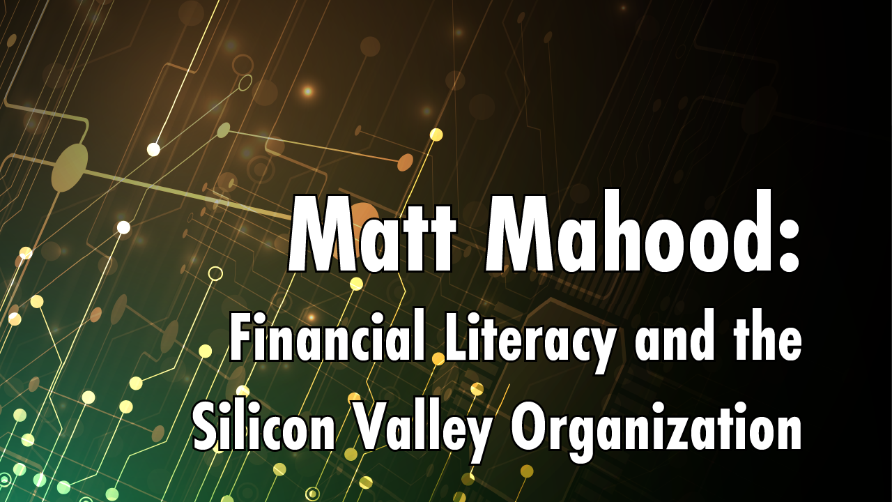 [Interview] Matt Mahood