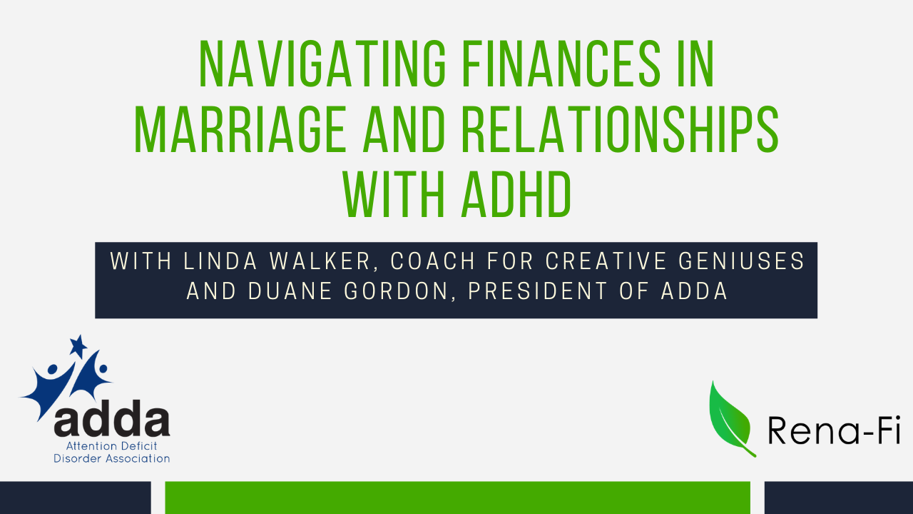 Finances in ADHD Relationships