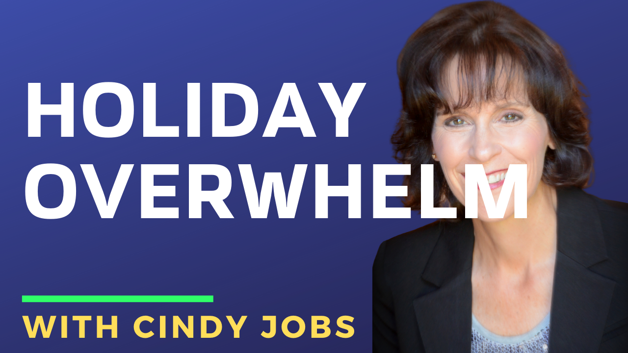 [Full Interview] Cindy Jobs Holiday Overwhelm