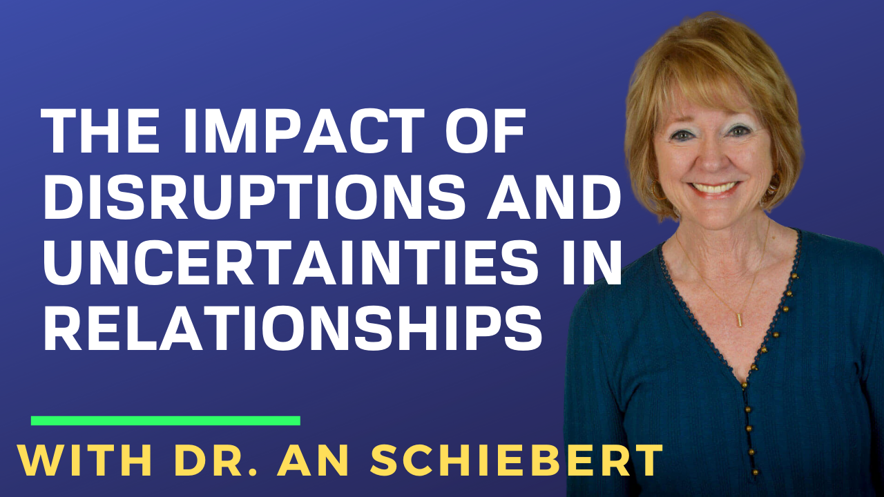 The Impact of Disruptions and Uncertainties in Relationships